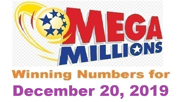 Mega Millions Winning Numbers for Friday, December 20, 2019