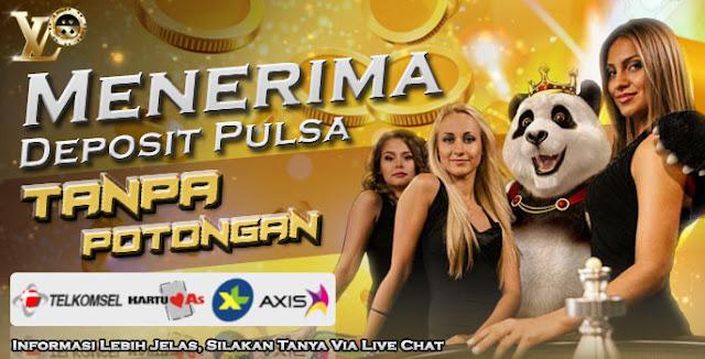 Deposit Pulsa Telkomsel & XL Tanpa Potongan