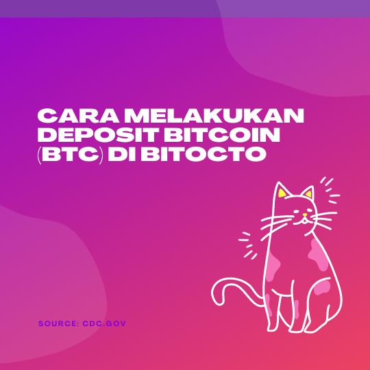 Cara Melakukan Deposit Bitcoin (BTC) Di BitOcto