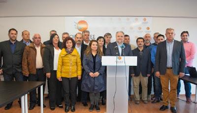 Ποιοι είναι οι πρώτοι 22 υποψήφιοι που παρουσίασε ο Σπύρος Ριζόπουλος