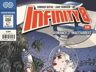 Infinity 8 (Comics) de Zep, Lewis Trondheim et Dominique Bertail