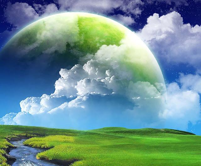 green nature wallpaper full hd