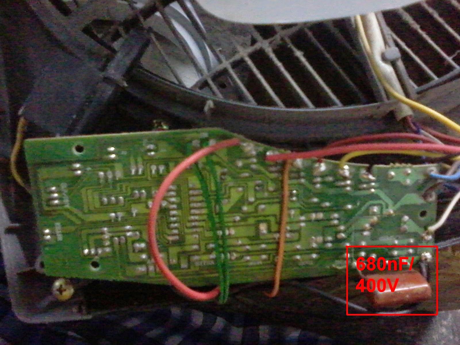 Diy Electric Cara Memperbaiki Kipas Angin Maspion Memakai Remote