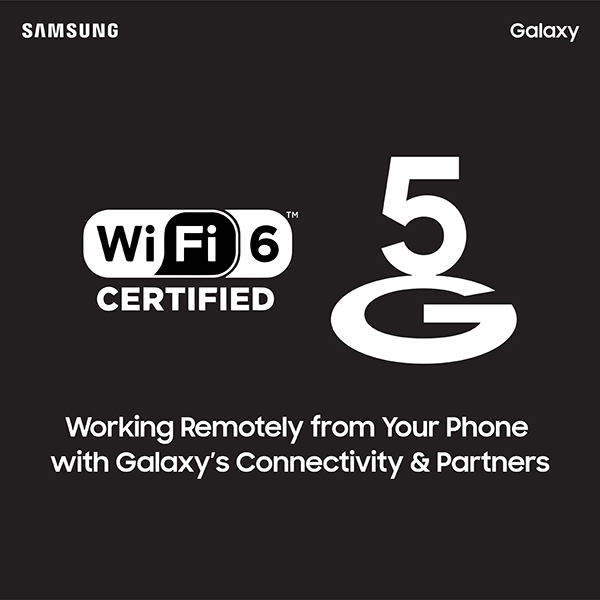 Stay Apart but Stay Together with Samsung Galaxy Devices