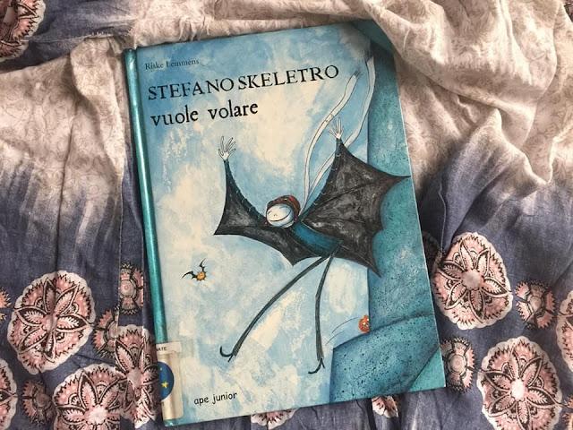 Stefano Skeletro vuole volare
