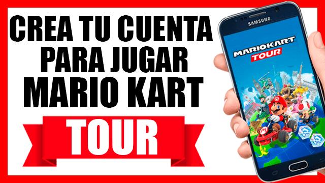 ¿Cómo crear cuenta de Nintendo para jugar Mario Kart Tour?