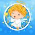 Christmas Angel Clock Screen Saver