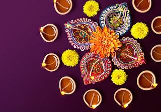 Deepavali Lamp PNG Images