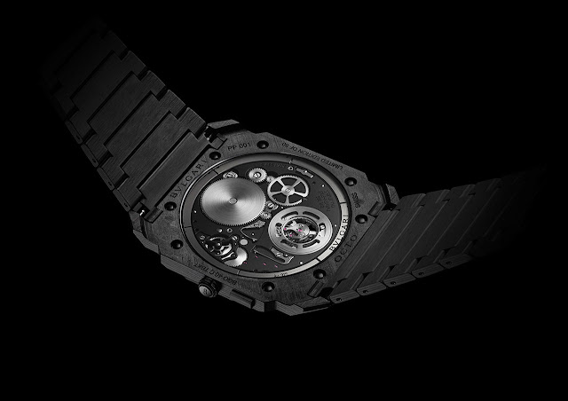 Bulgari Octo Finissimo Tourbillon Carbon Mechanical Watch