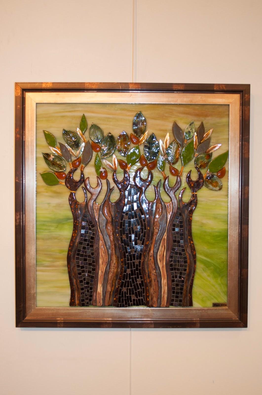ağaç mozaik