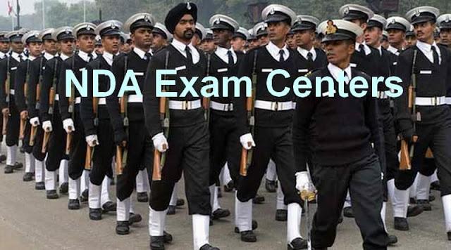 NDA Exam Centers