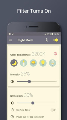 Download Blue Light Filter – Night Mode v1.2.4 Apk (Unlocked)