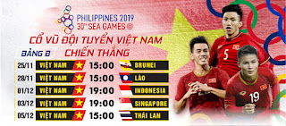 ca cuoc sea games