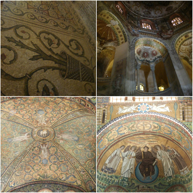 Os mosaicos de Ravenna (Itália) - Basílica de San Vitale