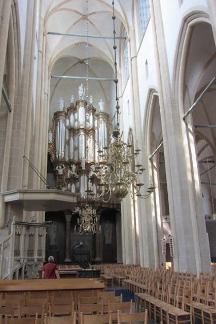 Kampen, interieur St. Nicolaaskerk