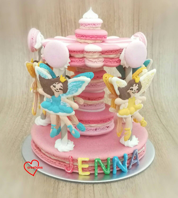 Loving Creations For You Dancing Princess Chocolate Macaron Carousel
