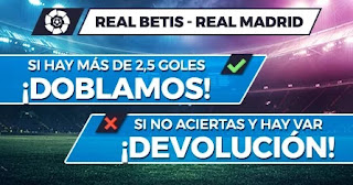 Paston promo Betis vs Real Madrid 28-8-21