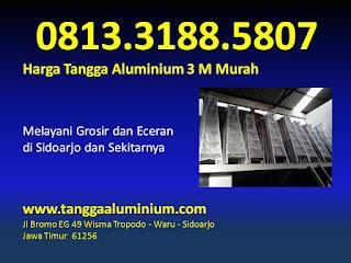 Harga tangga aluminium 3m murah