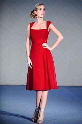 baju keta dan dress harga murah online Tea - length dress