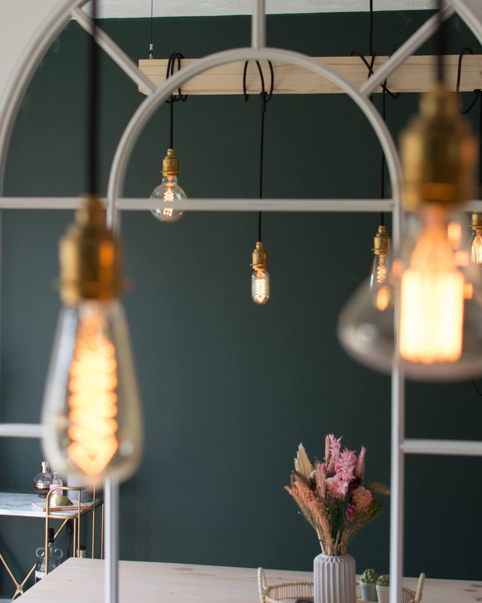 vintage hanging pendent light