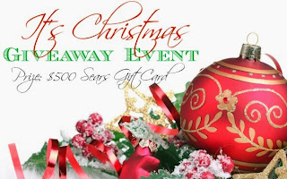 Enter to win the It's Christmas Giveaway. Ends 12/2/13.