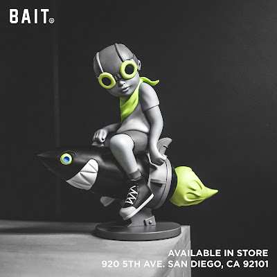 San Diego Comic-Con 2018 Exclusive Beyond the Beyond Gray Volt Edition Vinyl Figure by Hebru Brantley x BAIT