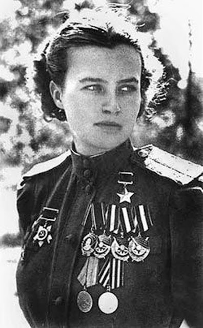 Yekaterina Budanova, female fighter ace of World War II worldwartwo.filminspector.com