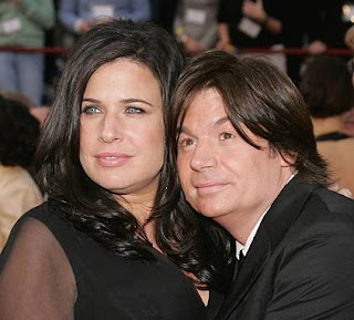 Robin Ruzan with her ex-husband Mike Myers
