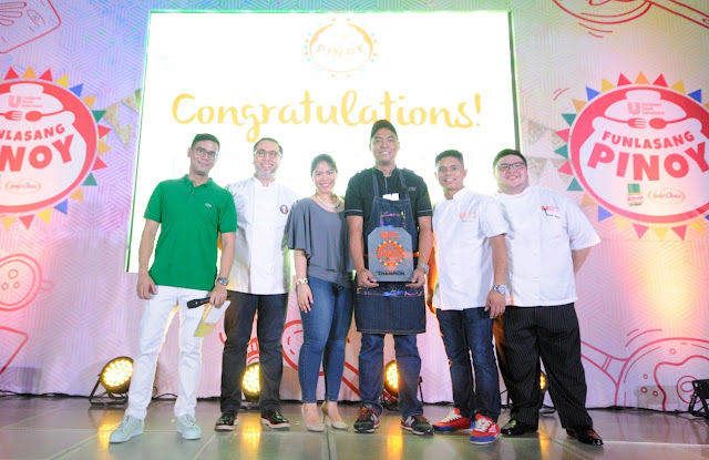 The First Winner of Funlasang Pinoy Twist Fest