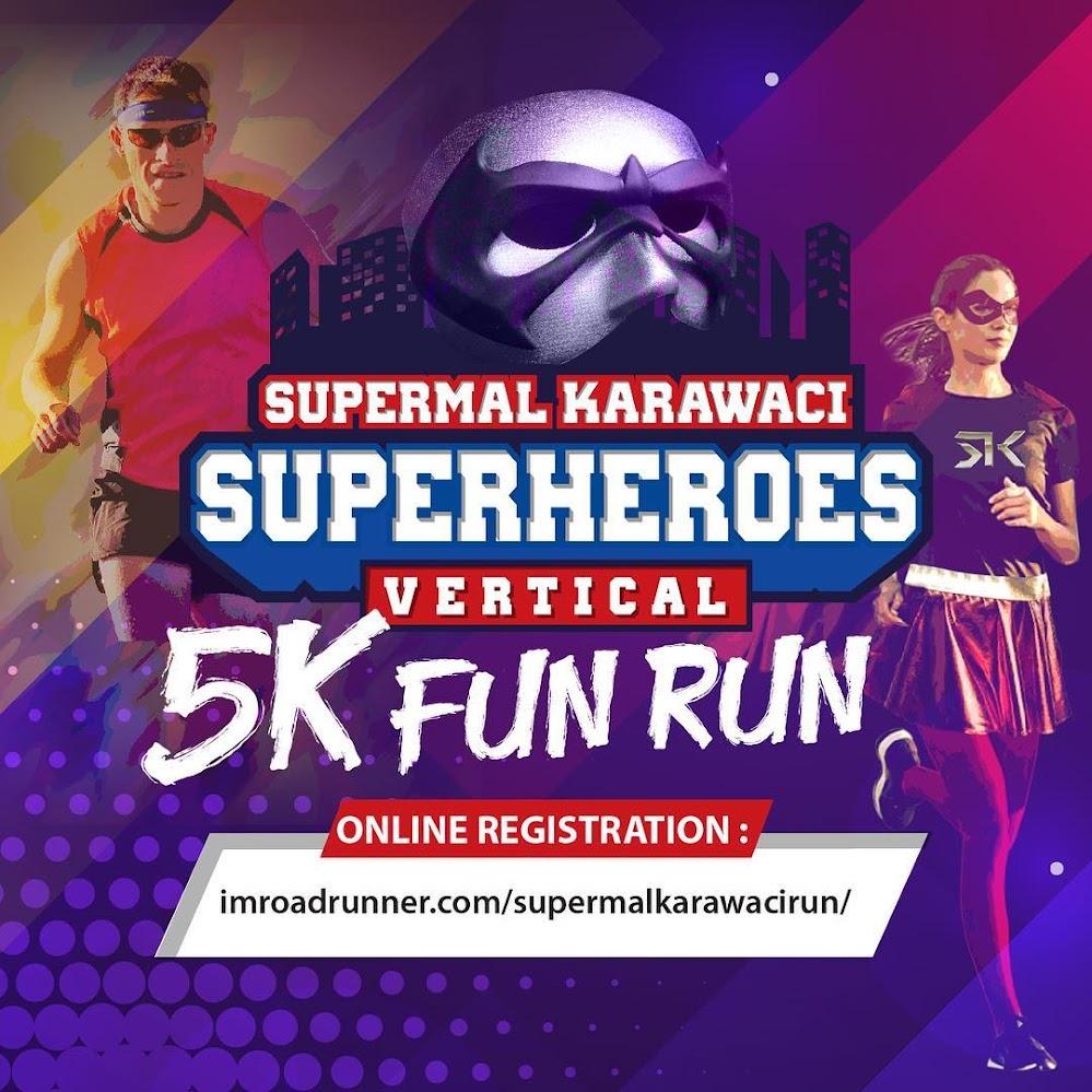 Supermal Karawaci - Superheroes Vertical 5K Fun Run • 2018
