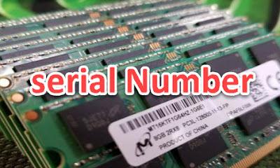 كيفية معرفة سيريال نمبر للرام Ram التي تستخدمها على حاسوبك