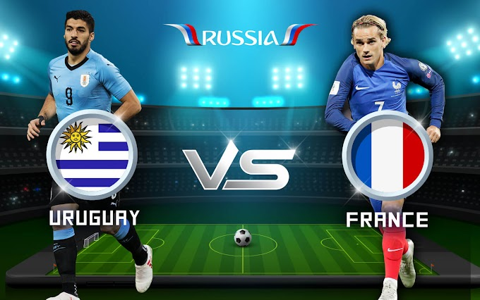 World Cup Russia 2018 Uruguay vs France FREE IPTV