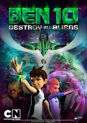 Ben 10 Destroy All Aliens 2012 Dual Audio Hindi 720p BluRay 400MB