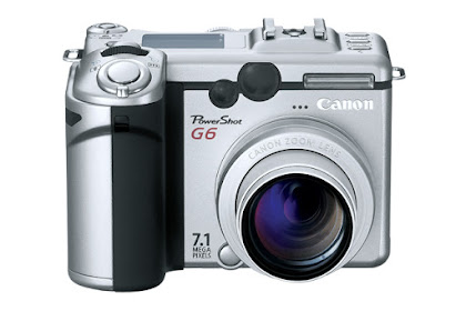 Canon PowerShot G6 Driver Download