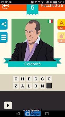 Iconica Italia Pop Logo Quiz soluzione pacchetto 5 livelli 6-75