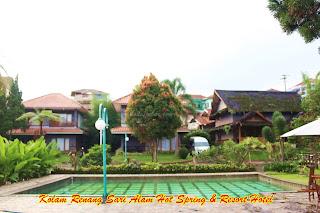 Kolam Renang Air Panas Sari Alam Hot Spring & Resort Hotel