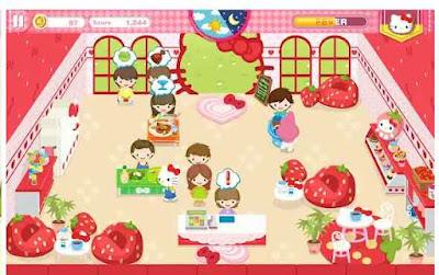 Game Kafe Impian Hello Kitty