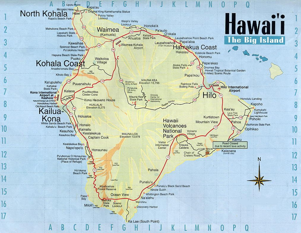 World Visits: Big Island Of Hawaii Best Family Vacation Spot
