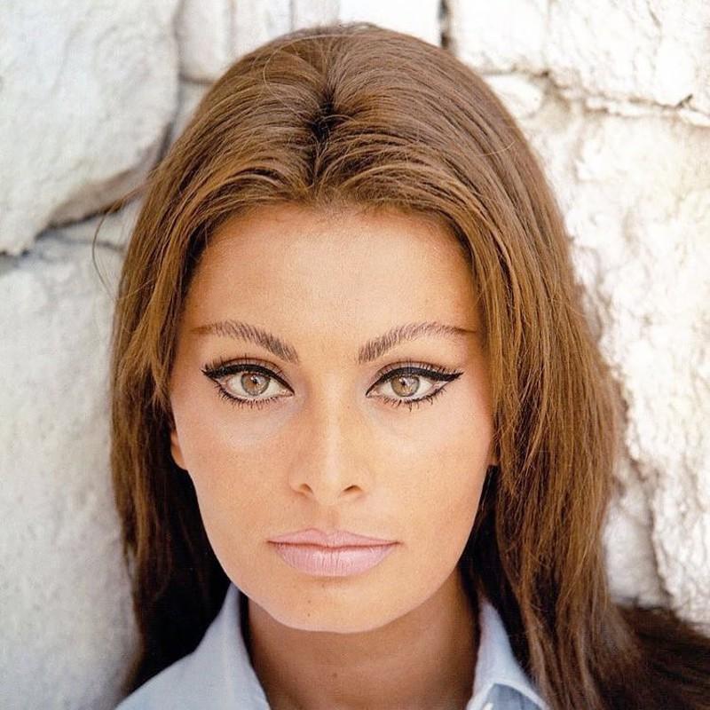 Maquiagem da Sophia Loren