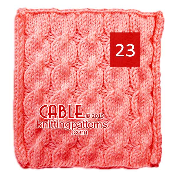 Cable Knitting Pattern 23
