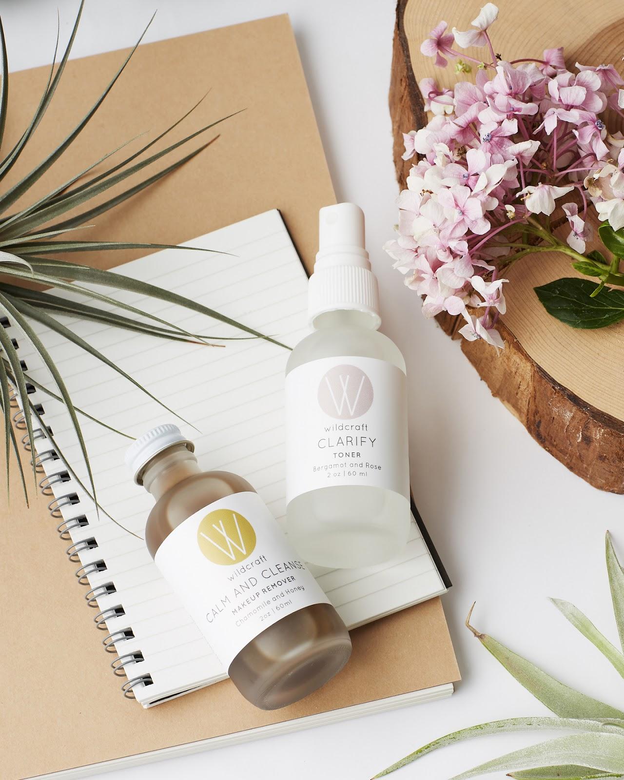 Wildcraft Bergamot Rose Toner + Chamomile Honey Makeup Remover Review organic natural skincare acne oily toronto canada hellolindasau