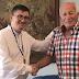 Ένα χρυσό μετάλλιο 40 ετών δώρισε ο Βαλκανιονίκης σφυροβόλος Γιώργος Λεμονής προς τον Δήμαρχο Ξηρομέρου