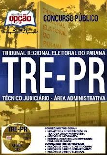 Apostila concurso TRT-PR 2017 Técnico Judiciário