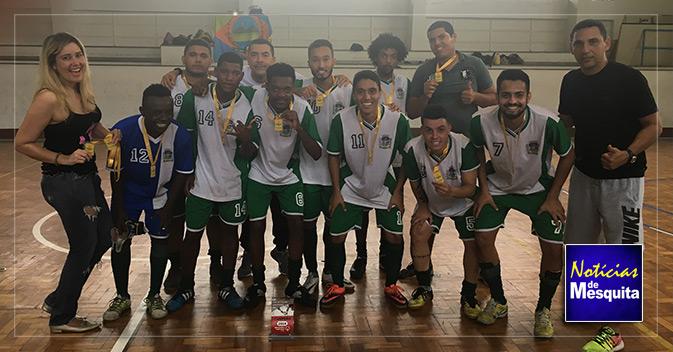 Mesquita conquista Liga Unificada de Futsal em Olimpíadas Especiais Brasil c3fcb3279f3af