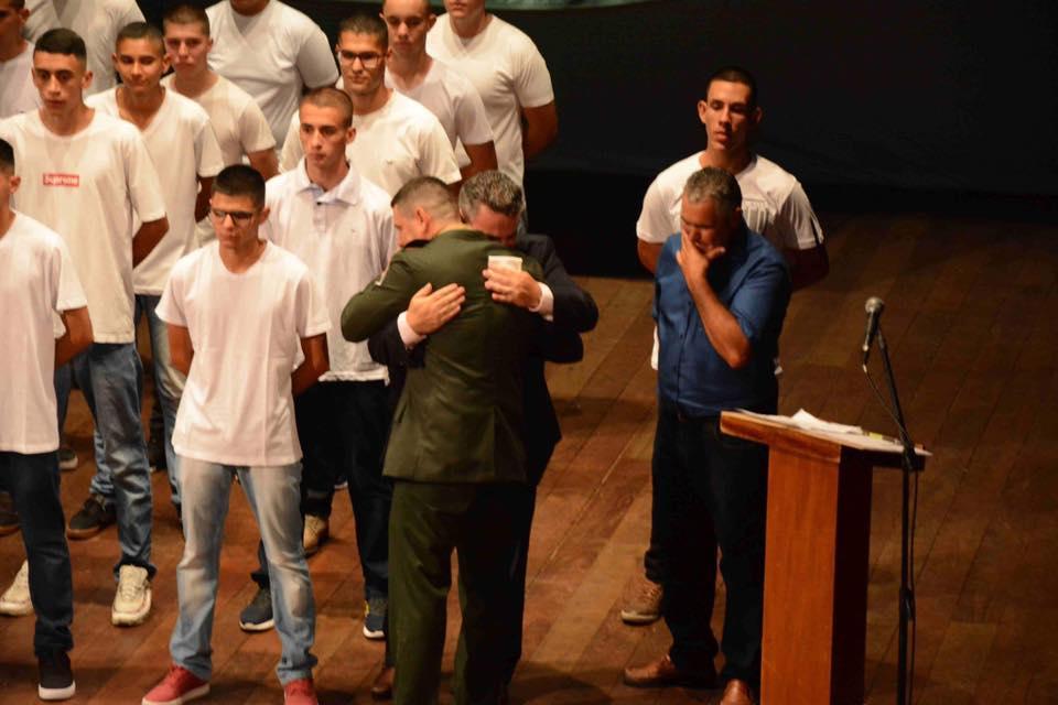 Solenidade, homenagens e despedida marcam o encerramento do ano de instrução do TG