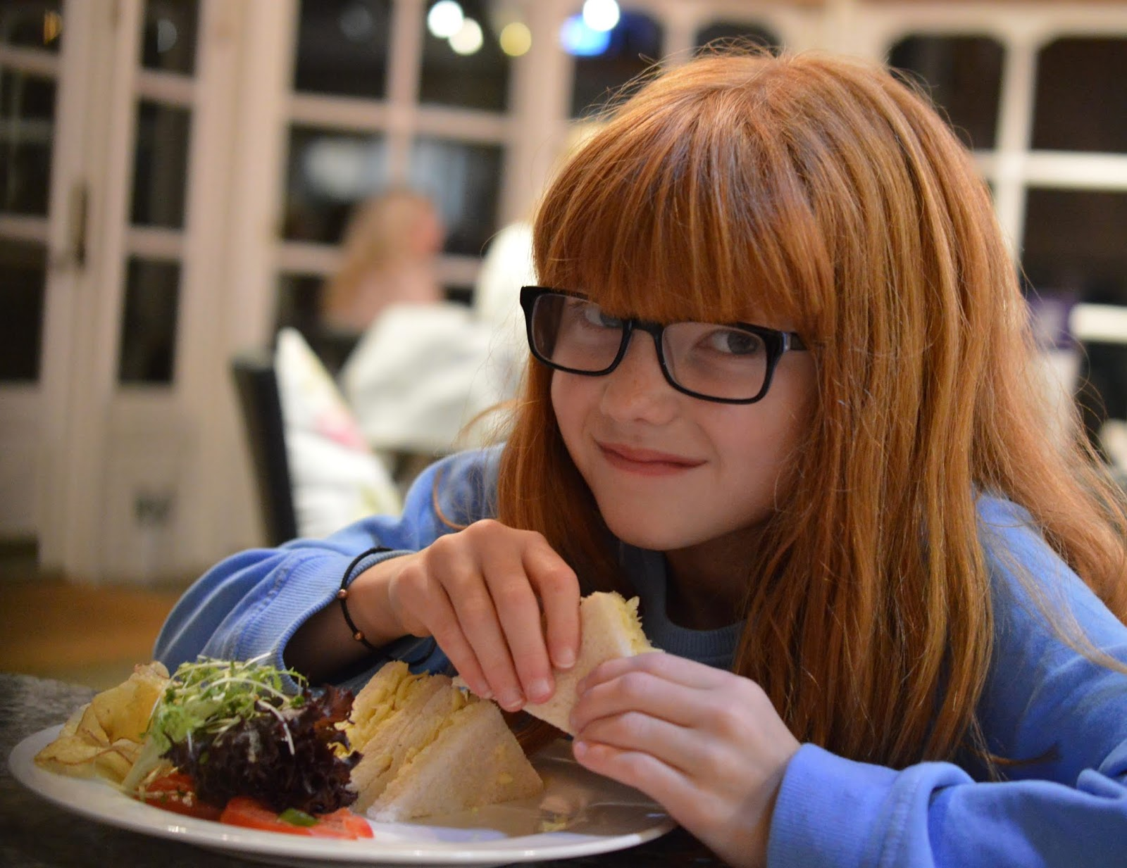 10 Reasons to Stay at Matfen Hall in Northumberland with Kids  - kids sandwiches