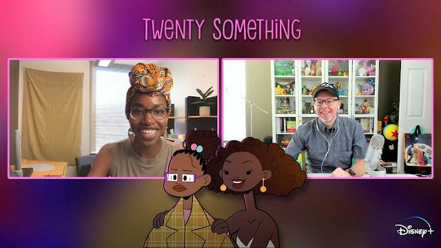 Twenty Something Pixar SparkShort Aphton Corbin Interview