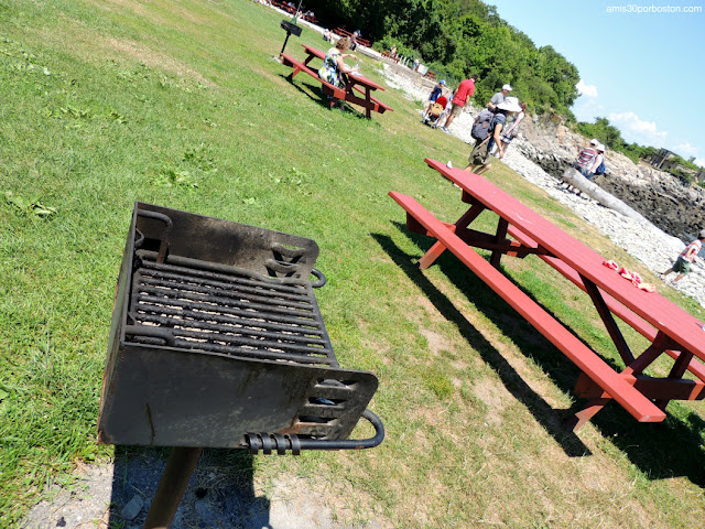 Zona de Picnic con BBQ en Fort Williams Park