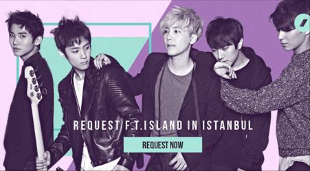 İstanbul'da FT ISLAND Konseri Olsun İster misiniz?