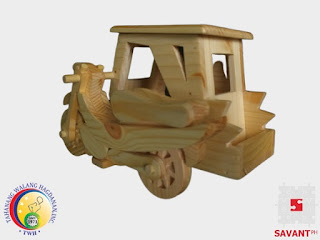 Wooden Tricycle Handicraft Philippines